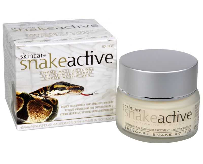 SNAKE ACTIVE ránctalanító krém kígyóméreggel